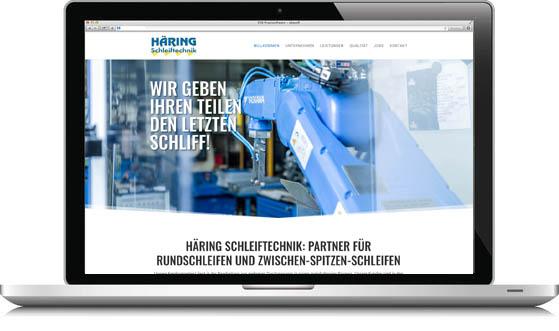 Homepage für Mittelstand
